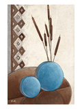 Harmony in Blue & Brown I Prints by Karsten Kirchner