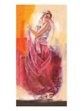 Flamenco Dance Print by Talantbek Chekirov