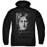 Hoodie: John Lennon- Sketch Pullover Hoodie