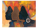 Black Triplets Prints by  Joadoor