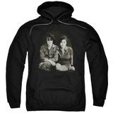 Hoodie: John Lennon- With Yoko & Berets Pullover Hoodie