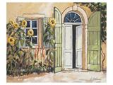 Fattoria di Angelo Doorway Posters af Karsten Kirchner