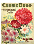 Currie Milwaukee Hortic. Guide Posters
