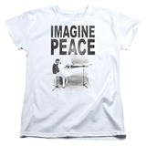 Womans: John Lennon- Imagine Peace Shirts