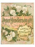 Henderson NY Garden Manual Print