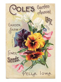 Cole's 1897 Annual Pella Iowa Posters