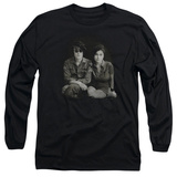 Long Sleeve: John Lennon- With Yoko & Berets Long Sleeves
