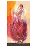 Flamenco Dance Poster by Talantbek Chekirov