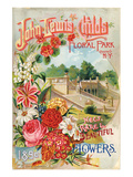 Childs Queens Flowers Catalog Posters