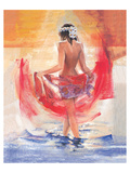 Facing the Sun Print by Talantbek Chekirov