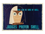 Judges Prefer Shell Posters
