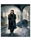 James Dean Parting Train Prints by Renate Holzner