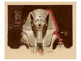 Living Image of Amun Print by  Joadoor