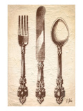 Louis XV Cutlery Posters by Rene Stein