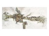Crocodile Giclee-tryk i høj kvalitet af Renate Holzner
