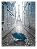 Eiffel Tower Photograph 2 Giclee Print by Armand Brito