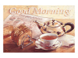 Guten Morgen Poster von Bjoern Baar