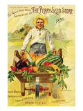 Perry Seed Store 1893 Annual Prints