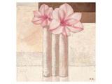 Pink Firelilies Art by Karsten Kirchner