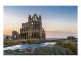 Ruins of Whitby Abbey England Prints