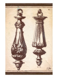 Neo Classical Door Knockers Prints by Rene Stein