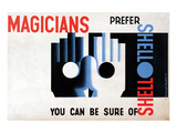 Magicians Prefer Shell Posters