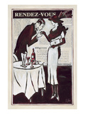 Rendez-Vous Chez Etienne Posters by Rene Stein