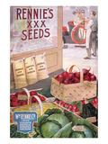 Rennie's Seeds Torontomontreal Posters