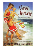 New Jersy Seashore Resorts Prints