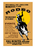 Rodeo Wild West at its Best Posters