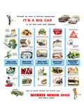 Morris Minor 1000 - a Big Car Prints