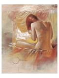 Pensive Print by  Joani