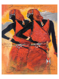 Massai Twins Posters by  Joadoor