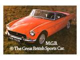 MG - Great British Sports Car Prints