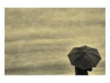 Schwartz - Little Red Umbrella Poster by Don Schwartz