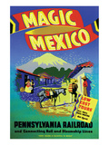 Magic Mexico Print