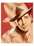 Portrait of H. Bogart Posters by  Joadoor