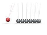 Newton Cradle Ball Pendulum Posters