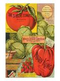 Maule Seed Book Philadelphia Premium Giclee Print