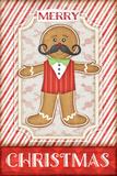 Gingerbread Man Prints by Jennifer Pugh