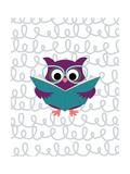 Owl 1 Posters van Tamara Robinson