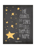 He Counts the Stars Posters by Jo Moulton