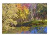 Schwartz - Autumn on the Pond Prints by Don Schwartz