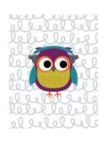 Owl 2 Poster van Tamara Robinson