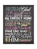 I Am a Child of God Premium Giclee Print by Jo Moulton