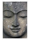 Rough Stone Buddha Face Posters