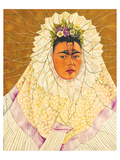 Portrait As Tehuana 1943 Posters av Frida Kahlo