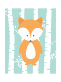 Woodland Birch 3 Posters by Tamara Robinson
