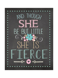 She Is Fierce Premium Giclee Print by Jo Moulton