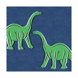 Dino 3 Kunstdrucke von Linda Woods